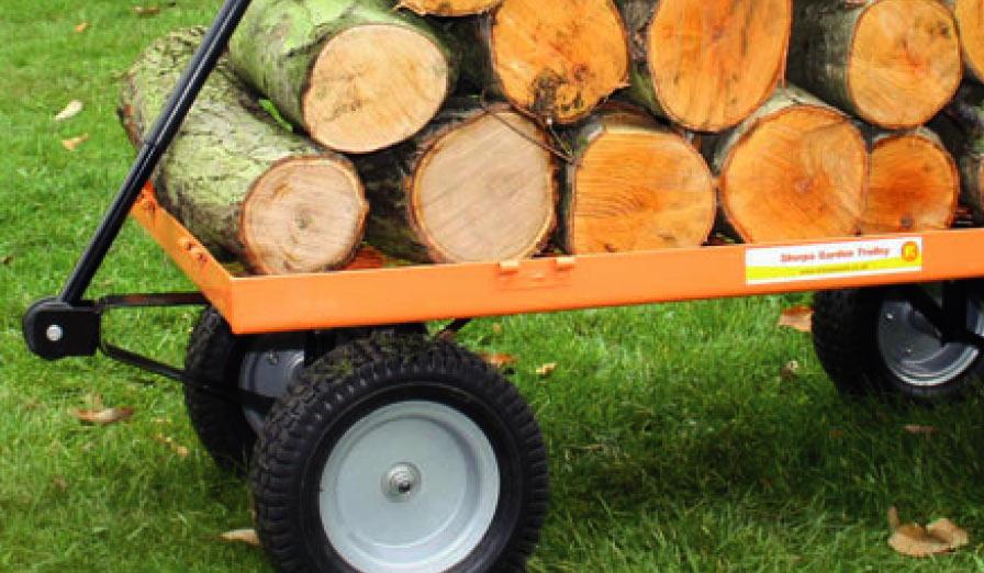 Sherpa garden cart Cornwall Lawn Care