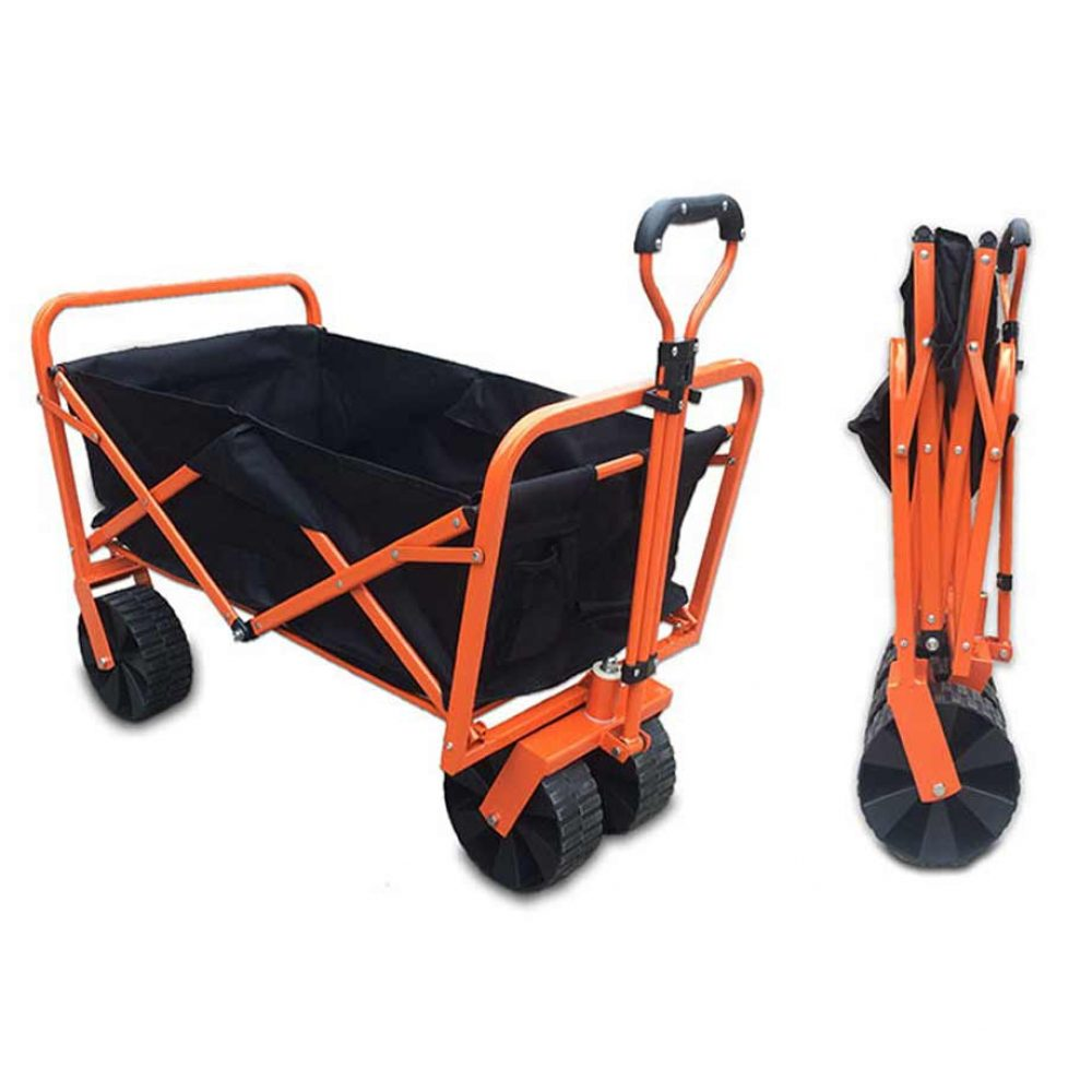 Folding garden cart from Cornwall Lawn Care