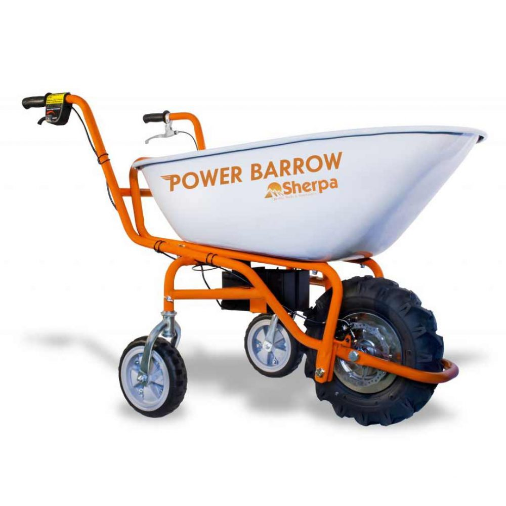 Power Wheel Barrow Cornwall Lawn Care