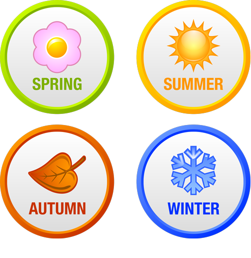 Spring summer autumn winder seasonal lawn care treatments and services